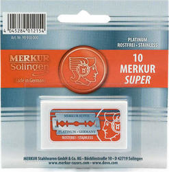 Merkur Razor Super 10 pieces