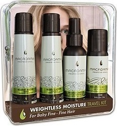 Macadamia Weightless Moisture Shampoo 100ml & Conditioner 100ml & Leave-in Conditioner Mist 100ml & Dry Oil Micro Mist 50ml