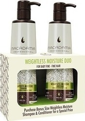 Macadamia Weightless Moisture Duo Shampoo 500ml & Conditioner 500ml