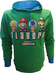 HOODIE SMB PLAYERS (GREEN)