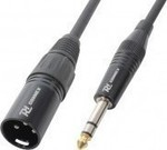 Power Dynamics Cable XLR male - 6.3mm male 0.15m (177.082)