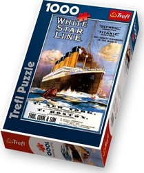 White Star Line: Titanic Retro 1000pcs (10282) Trefl
