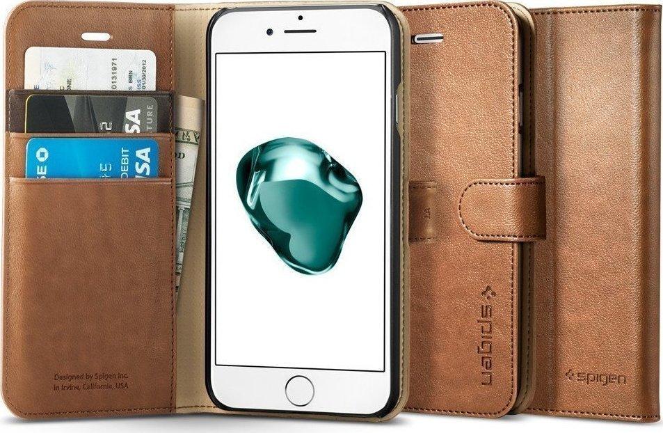 reputable site b049e 1587e Spigen Wallet S Καφέ (iPhone 7 Plus)