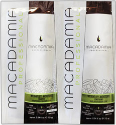 Macadamia Weightless Moisture Shampoo 10ml & Conditioner 10ml