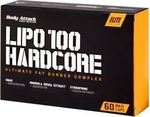 Body Attack Lipo 100 Hardcore 60κάψουλες
