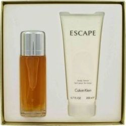 Calvin Klein Escape Eau de Parfum 100ml & Body Lotion 200ml