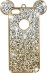 OEM 3D Mouse Ears Strass Gold/Silver (iPhone 5/5s/SE)