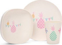 Penny Scallan Bamboo Mealtime Set - Pineapple Bunting