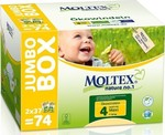 Moltex Eco Nappy Maxi No 4 (7-18 Kg) 2*37τμχ