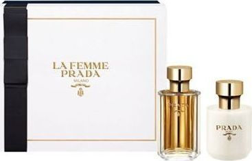 Prada La Femme Set Eau De Parfume 50ml & Body Lotion 100ml