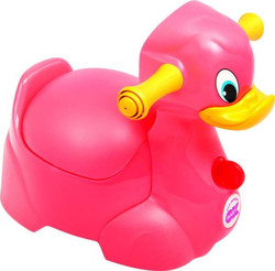 OK Baby Quack The Duck Potty Pink