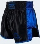 MANTO MUAY THAI Shorts VIBE black/blue