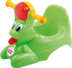 OK Baby Spidy The Rabbit Potty Green