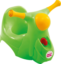 OK Baby Scooter Potty Green