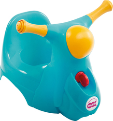 OK Baby Scooter Potty Blue