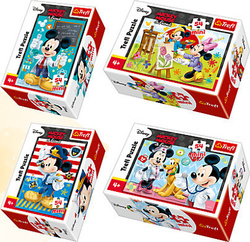 Mickey & Friends: What is a Profession? 54pcs (54149) Trefl