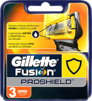 Gillette Fusion Proshield Razor With Flexball Technology 3τμχ