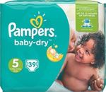 Pampers Baby Dry No 5 (11-23Kg) 39τμχ