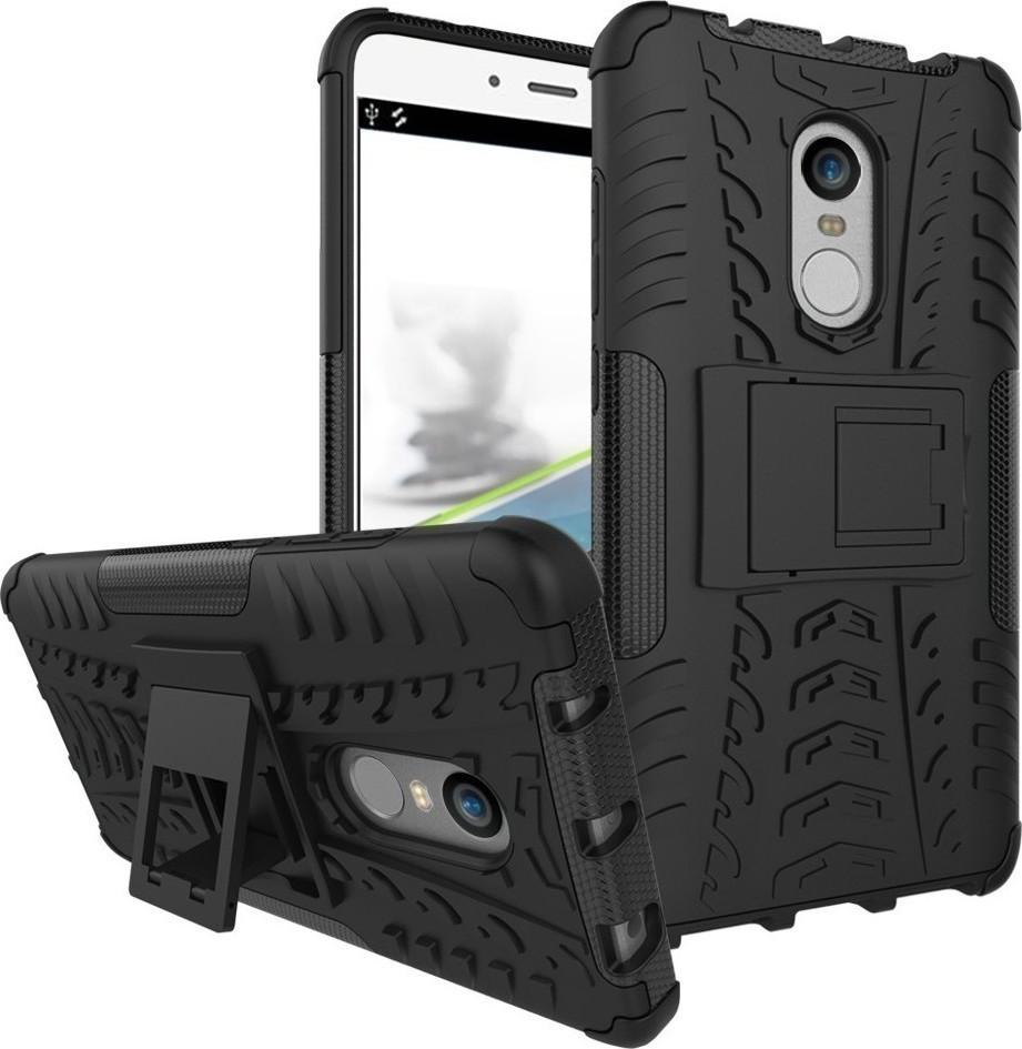 super popular 0a602 48a2a Back Cover Kickstand Μαύρο (Xiaomi Redmi Note 4)