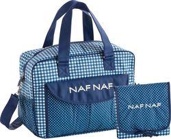 Προσθήκη στα αγαπημένα menu Naf Naf Τσάντα-Αλλαξιέρα Μπλε Καρό 734cb36ab6d
