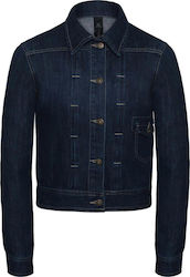 Ladies Denim Trucker Jacket B & C DNM Frame Women - Deep Blue Denim