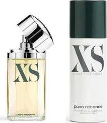 Paco Rabanne Xs Eau de Toilette 100ml & Deodorant Spray 150ml