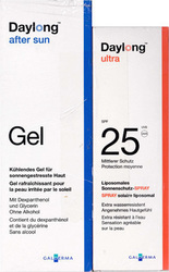 Daylong Ultra Face Cream SPF25 50ml & After Sun Gel 200ml
