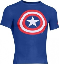 Under Armour Captain America Compression Top 1244399-402