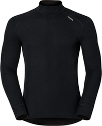 Odlo Warm Baselayer Shirt With Turtle Neck 152012 Black