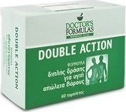 Doctor's Formulas Double Action 60ταμπλέτες