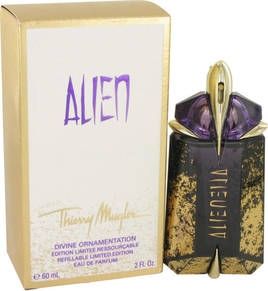 Mugler Alien Divine Ornamentation Refillable Eau De Parfum 60ml In Menu