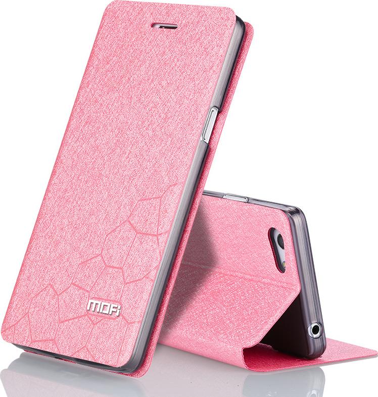 Προσθήκη στα αγαπημένα menu OEM Mofi Vertical Flip Ροζ (Xiaomi Redmi  3s 3x 3 Pro) f7a0ee5d843