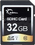 G.Skill Photo/Video SDHC 32GB U1