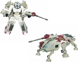 Hasbro Star Wars: Transformers Crossovers - Captain Rex to AT-TE