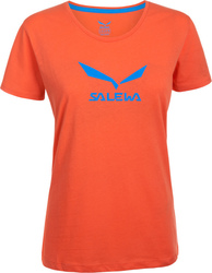Salewa Solid Logo Co SS Tee 24554-4801
