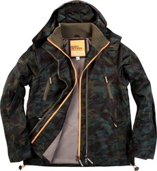 Body Action Winter Fleece Lined Jacket 073617 Green