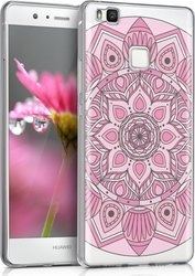 KW Back Cover Σιλικόνης Ethnic Flower (Huawei P9 Lite)