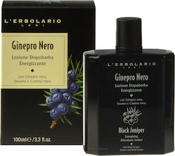 L' Erbolario Ginepro Nero Energising After Shave Lotion 100ml