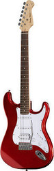 Harley Benton ST-20HSS CA Standard Series Candy Apple Red