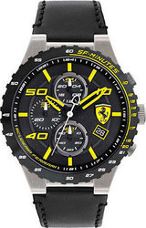 Ferrari Scuderia Speciale Evo Chrono Leather 0830360