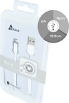 Acura Flat USB to Lightning Cable Λευκό 1.5m (CU-5)
