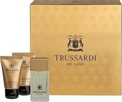 Trussardi My Land Eau De Toilette 30ml & Shower Gel 30ml & After Shave Lotion 30ml