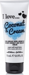 I Love Cosmetics Super Soft Hand Lotion Coconut & Cream 75ml