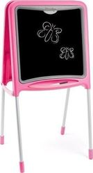 Smoby Metal Double Side Board Pink