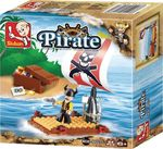Sluban Pirate: Raft 64τμχ