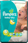 Pampers Baby Dry No 6 (15+ Kg) 19τμχ 19τμχ