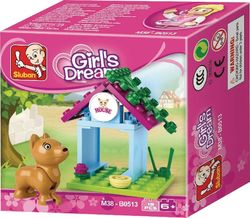 Sluban Girls Dream: Dog House 19τμχ