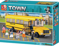 Sluban Town: Grand School Bus 382τμχ
