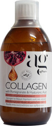 Ag Pharm Collagen Pomegranate & Hyaluronic Acid 500ml