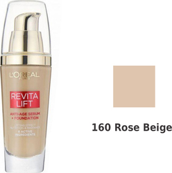 L'Oreal RevitaLift Anti-age Serum+foundation 160 Rose Beige 25ml